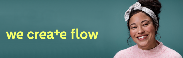 we create flow banner