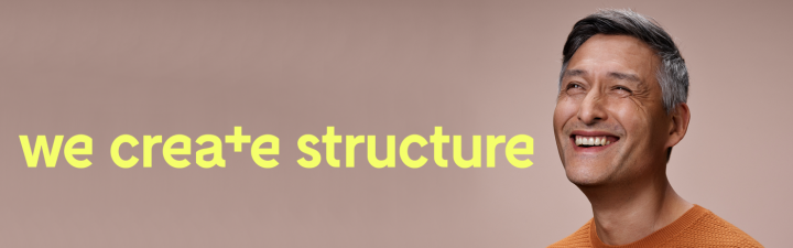 we create structure banner