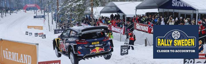 Rally Sweden Accountor 2019
