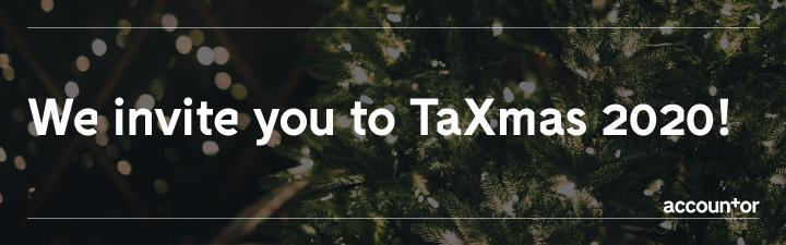We invite you to TaXmas 2020